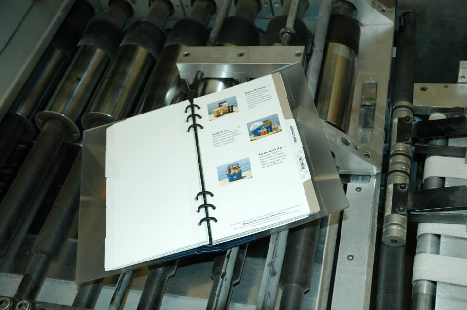 Tabs Etc, Inc. provides large run production and finishing services.
